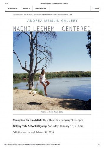 Thursday from 6 til 8_ Naomi Leshem _Centered_